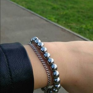 Jewelry - Stainless Steel Bead Bracelet